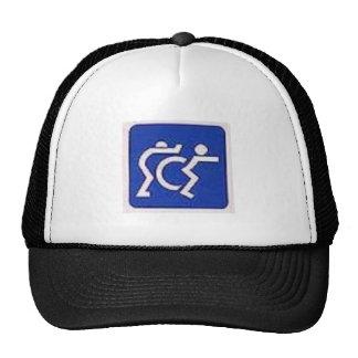 push criples trucker hat