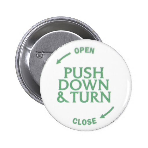 Push Down & Turn Buttons