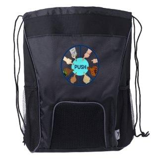PUSH   Drawstring Backpack