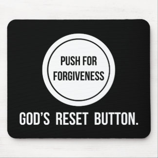 Push for Forgiveness Mouse Pad