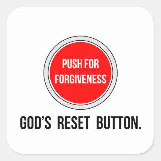 Push for Forgiveness Sticker