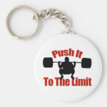 Push it to the limit key chain