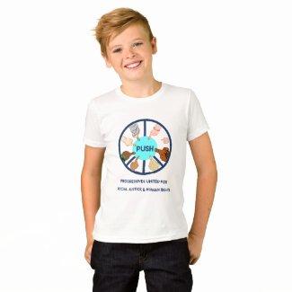 PUSH Kids T-  Shirt