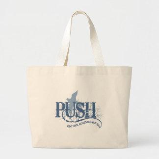 PUSH LARGE TOTE BAG
