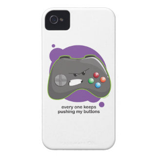 Push My Buttons iPhone 4 Case