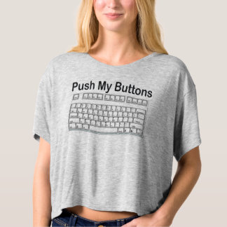 PUSH MY BUTTONS KEYBOARD FIRST BASE T-SHIRT