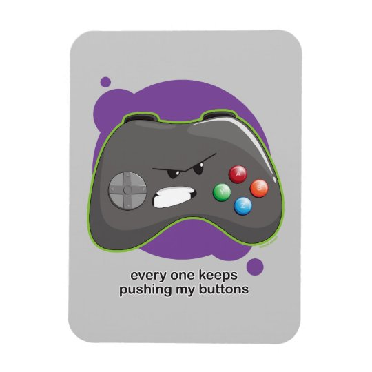 Push My Buttons Magnet