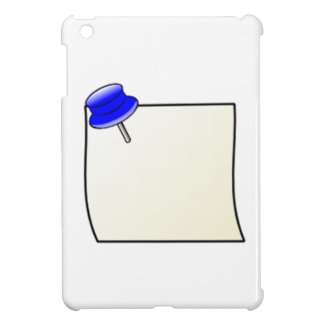 Push Pin and Note iPad Mini Covers