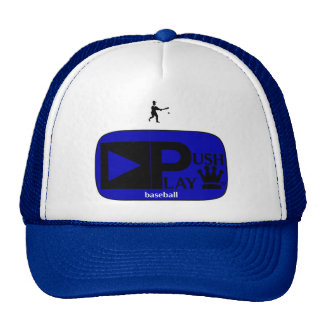 Push Play Athletic Wear Baseball Trucker Hat