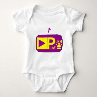 Push Play Athletic Wear Basketball Baby Bodysuit