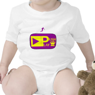 Push Play Athletic Wear Basketball Baby Creeper