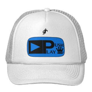 Push Play Athletic Wear Basketball Trucker Hat
