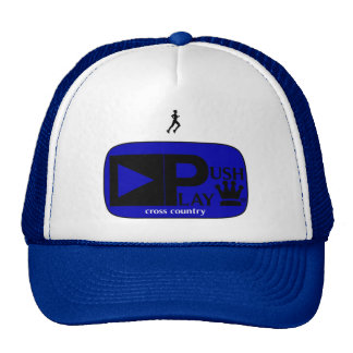 Push Play Athletic Wear Cross Country Trucker Hat