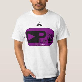 Push Play Athletic Wear Cycling T-Shirt
