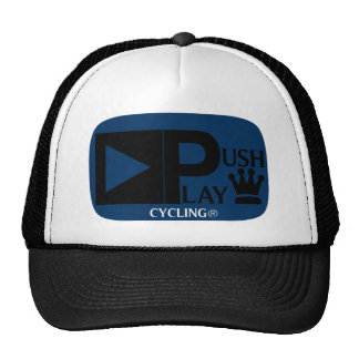 Push Play Athletic Wear Cycling Trucker Hat