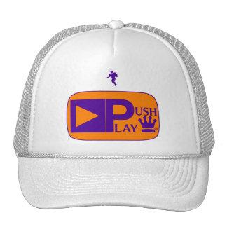 Push Play Athletic Wear Football Trucker Hat