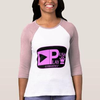 Push Play Athletic Wear Gymnastics Tee Shirts