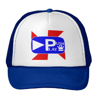 Push Play Athletic Wear Trucker Hat