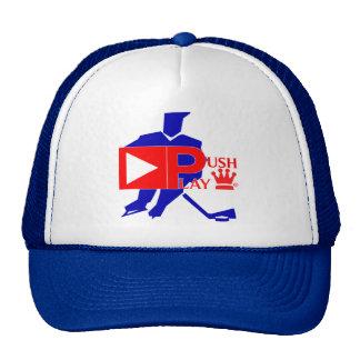 Push Play Athletic Wear Hockey Trucker Hat