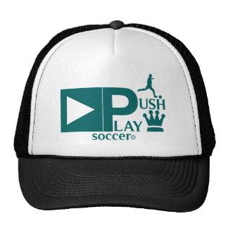 Push Play Athletic Wear Soccer Trucker Hat