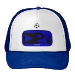 Push Play Athletic Wear Soccer Mesh Hats