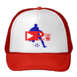 Push Play Athletic Wear Soccer Player Trucker Hats