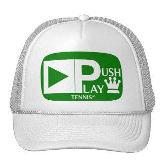 Push Play Athletic Wear Tennis Trucker Hat