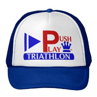 Push Play Athletic Wear Triathlon Trucker Hat