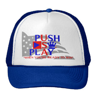 Push Play Athletic Wear USA Trucker Hat