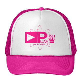 Push Play Athletic Wear Volleyball Trucker Hat