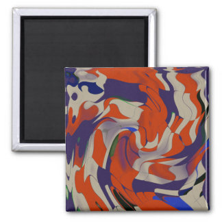 Push the Limits 2 Inch Square Magnet