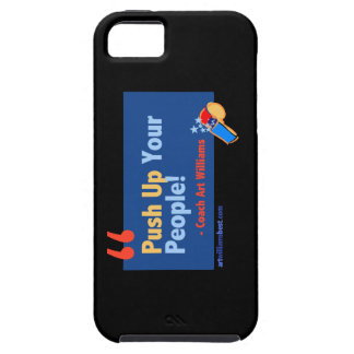 Push up People Quote from Art Williams iPhone 5/5S Case