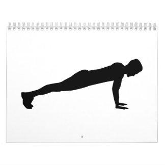 Push ups calendar