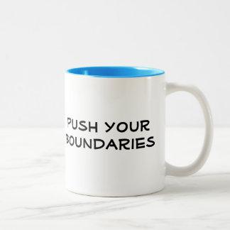 Push Your Boundaries Mug