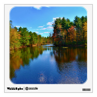 Pushaw Stream Autumn Reflections II Room Graphic
