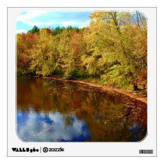 Pushaw Stream Autumn Reflections Wall Sticker