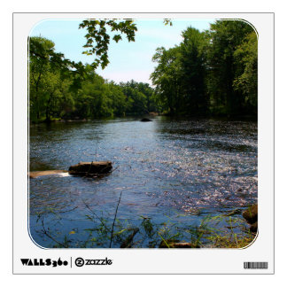 Pushaw Stream Boat Launch in West Old Town, Maine Wall Decals