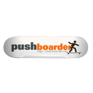 PushBoard Old School Logo Competition Deck