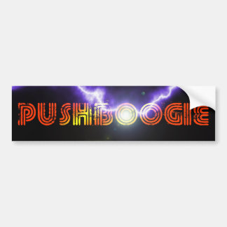 Pushboogie Bumper Sticker 2
