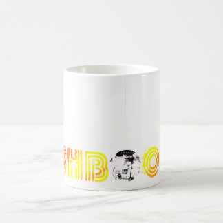 Pushboogie Caffine Capsule Classic White Coffee Mug