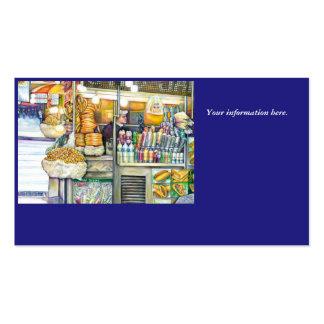 Pushcart Paradise Business Card