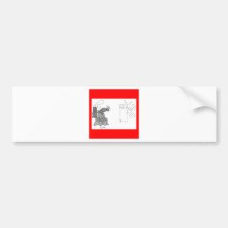 pushencore etiqueta de parachoque
