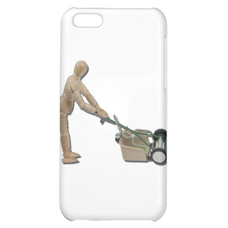 PushingLawnMower073011 Cover For iPhone 5C