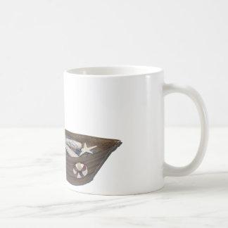 PushingRowboatNets073011 Coffee Mug