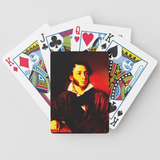 Pushkin Bicycle Playing Cards