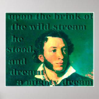 Pushkin Poster