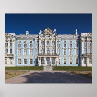 Pushkin-Tsarskoye Selo, Catherine Palace Poster