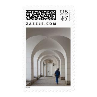 Pushkin-Tsarskoye Selo, galería de Cameron, arcos Timbres Postales