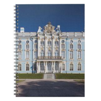 Pushkin-Tsarskoye Selo, palacio de Catherine Libreta Espiral