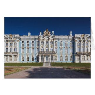 Pushkin-Tsarskoye Selo, palacio de Catherine Tarjeta De Felicitación